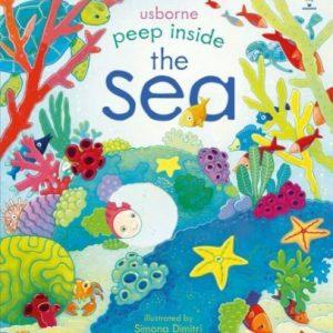Peep Inside The Sea ( În Interiorul Mării – Carte cu Clapete) – Usborne