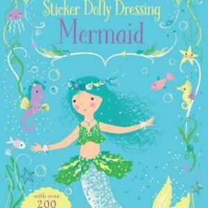 Mermaid Little Sticker Dolly Dressing
