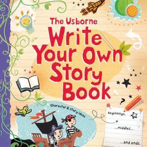 Jurnalul – Cum să-ți scrii propria poveste – Write Your Own Storybook – Usborne
