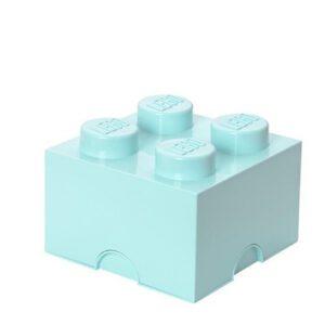 Cutie de depozitare LEGO 2×2 Albastru Aqua