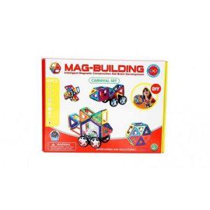 Joc Magnetic Educativ (48 piese) – Mag-Building