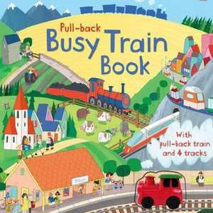 Trenul din carte – Busy train book – Usborne