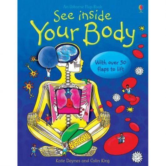 anatomia pentru copii, usborne carte anatomie copii, see inside your body usborne books, carte cu clapete copii, carte in limba engleza anatomie
