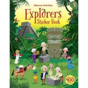 Carte de activitati – Explorers sticker book