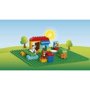 Placă verde pentru construcții – Lego Duplo (2304)