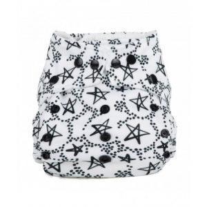 Baba+Boo scutec textil cu buzunar – Lucky Stars (varianta nouă)