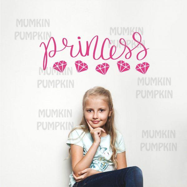 promotie sticker camera copii, sticker roz cu princess camera fete