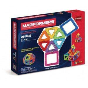 Set Magformers (26 piese) – Joc Constructie Magnetic 3D