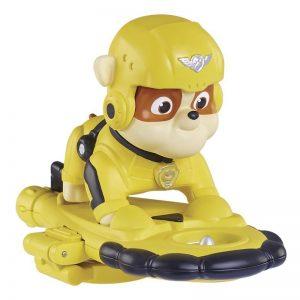 Figurina Spin Master Paw Patrol Air Rescue, Rubble cu accesorii
