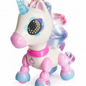 Jucarie interactiva Zoomer Zupps Unicorn cu lumini si sunete – Dream