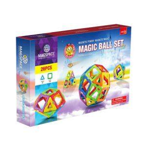 Magspace 26 piese – Magic Ball Set – Joc Constructie Magnetic 3D