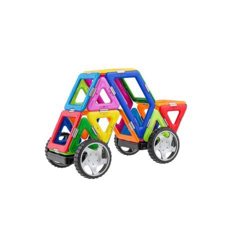 Magspace - 25 Piese Mini Karting - Joc Magnetic Educativ 3D, reducere