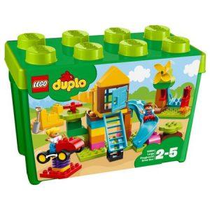 Cutie mare de cărămizi pentru terenul de joacă – LEGO DUPLO (10864)
