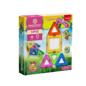Magspace 14 piese – Magnetic Magic Power – Joc Magnetic Educativ 3D