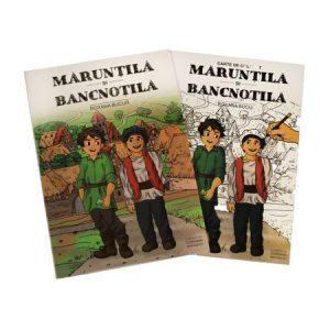Maruntila si Bancnotila – Roxana Bucur, cadou carte de colorat + bonus