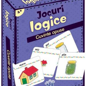 Jocuri logice – Cuvinte opuse