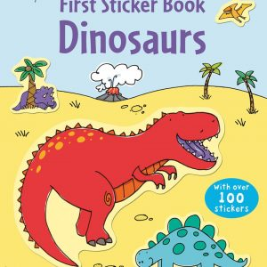 First Sticker Book Dinosaurs – Prima Carte Cu Stickere (Dinozauri)