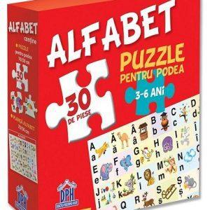 ALFABETUL – PUZZLE PODEA 50/70 + AFIS 50/70 – 30 piese