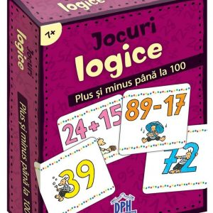 Jocuri logice – Plus și minus până la 100