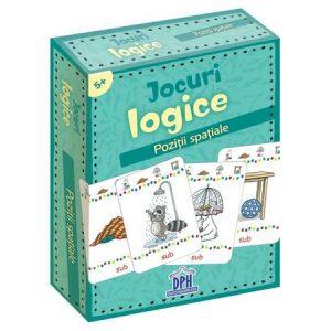 Jocuri logice – Poziții spațiale (jetoane)