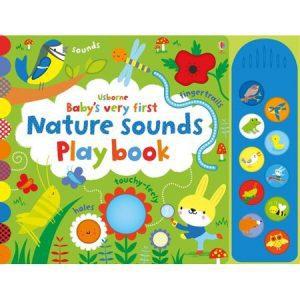Prima carte a bebelușului cu sunete din natură