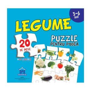 Legume (Puzzle Podea 50/70 + Afiș 50/70 ) – 20 piese