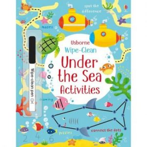 În Interiorul Mării – Under The Sea Wipe – Clean Activities