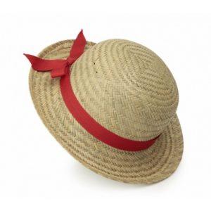 Pălărie din paie cu fundă roșie, Egmont Toys