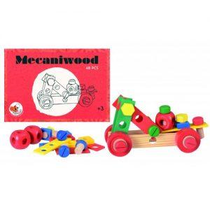 Mecaniwood Egmont, set 48 piese