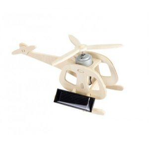 Elicopter – machetă cu panou solar