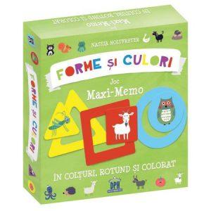 Forme și Culori – Joc Maxi-Memo