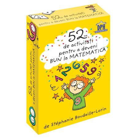 52 JETOANE PENTRU A DEVENI BUN LA MATEMATICĂ, reducere, cartonase matematica