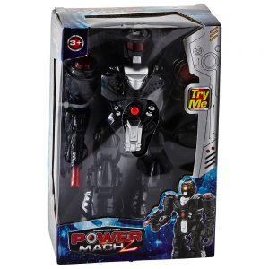 Robot Trasformabil Power Mach – Negru