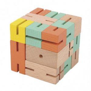 Joc logic 3D puzzle Boy – Verde