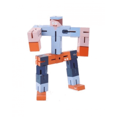 Joc-logic-fridolin-3D puzzle-Boy-Albastru