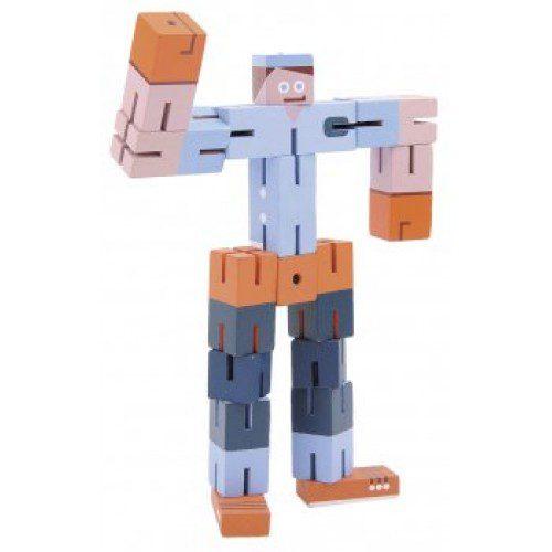 Joc logic fridolin 3D puzzle Boy - Albastru, fridolin, jocuri germania, joc lemn, joc logic, joc tiip puzzle, educatia waldorf, montessori