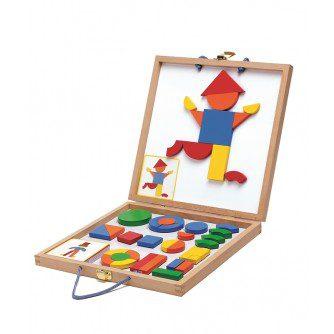 Geoforme, joc cu magneţi Djeco, jocuri djeco, jocuri magnetice, joc educativ, joc copii gradinita, jocuri franta, bebelind