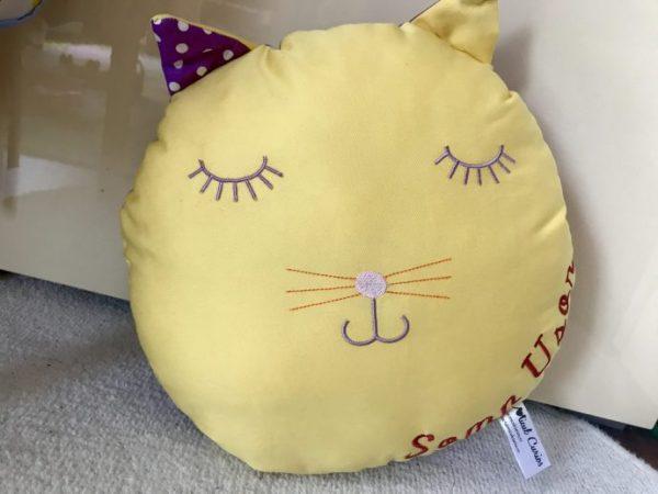Pernă pisica, perna copii handmade, perna pisicuta, perna jucarie, perna hipoalergenica copii, handmade