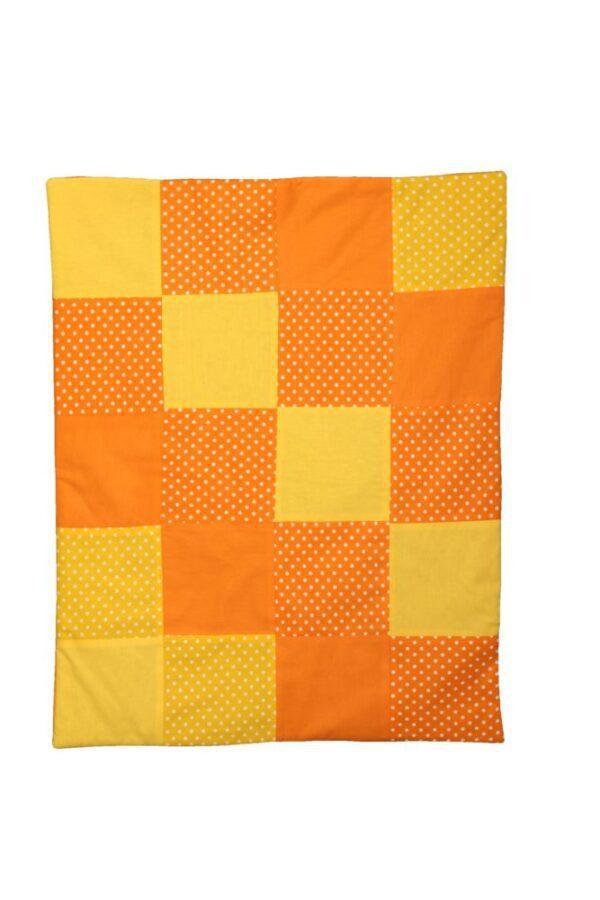Pătură copii, patchwork, micul curios, patura activitati copii, patura cort tepee, paturica colorata copii, patura handmande
