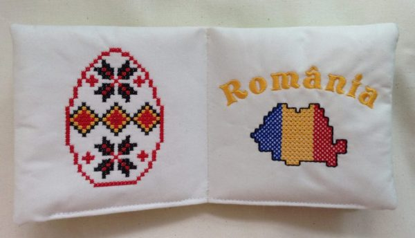 Cartea-Senzoriala-Romania-Tara-mea, pentru bebe, carte educativa