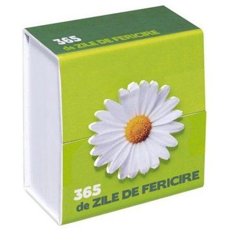 365 - ZILE DE FERICIRE, dph, Cu Didactica Publishing House, cartonase mesaje fericire, cartonase proverbe
