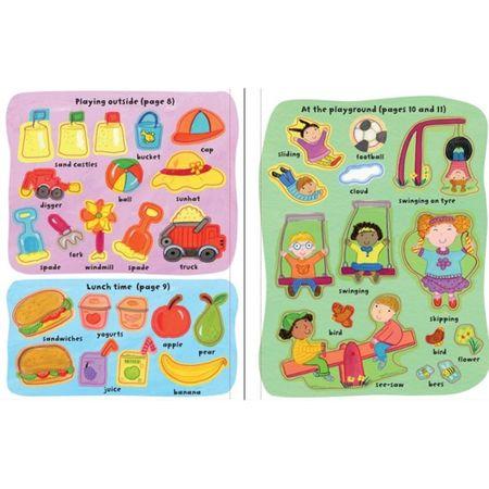 My Day, Getting Dressed Sticker Book, carte stickere, carte copii autocolante, carte copii imbracat, carti usborne, carte limba engleza autocolante