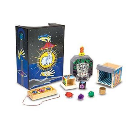 Set Magie pentru Incepatori, Melissa and Doug, jucarii educative, trucuri magie, trusa magie, abracadabra, jocuri magice, set magician