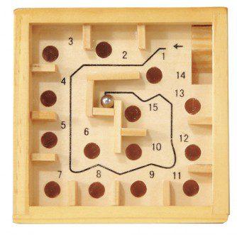 Labirint numerotat cu bilă natur, jocurile copilariei, joc educativ, joc din lemn, joc labirint, joc educativ, fridolin, bebelind