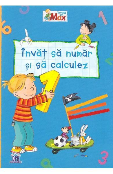 Invat sa numar si sa calculez, Caiet grupa mare, exercitii distractive, caiet gradinita, dph, caiet educativ, copii gradinita