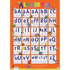 Plansa Alfabetul