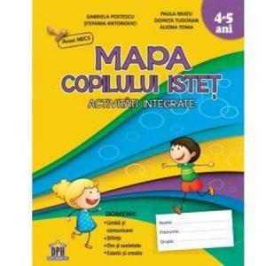 Mapa copilului isteț 4-5 ani – Grupa mijlocie
