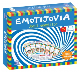 Emotijovia, editie revizuita, Didactica Publishing House, jocul emotiilor, joc educativ, Ion Ovidiu Panisoara, dph, gestionarea emotiilor, joc montessori