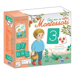 Cutia Mea Cu Cifre Montessori, Celine Santini, Vendula Kachel
