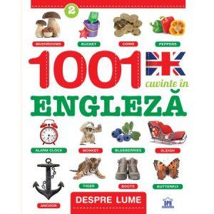 1001 Cuvinte in engleza – Despre lume, Creabooks